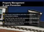 property management loss prevention