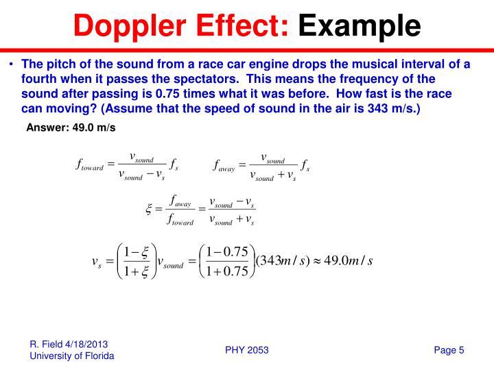 Ppt Sound Waves Doppler Effect Powerpoint Presentation Id3565470