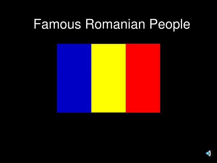 famous romanian people n.