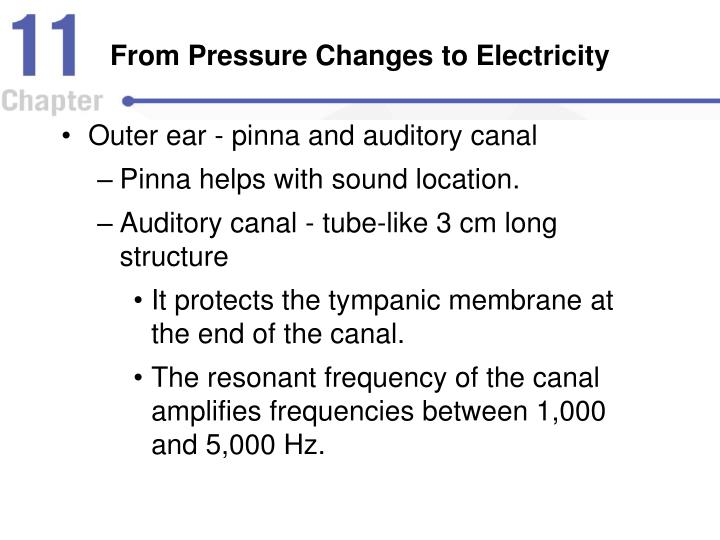 From Pressure Changes to Electricity