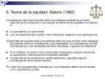 6 teoria de la equidad adams 1962