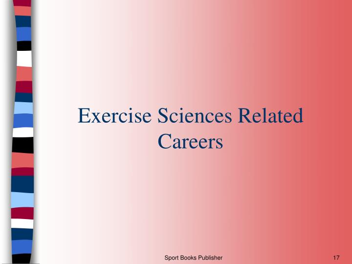 Exercise Sciences Related Careers