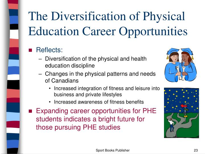 The Diversification of Physical Education Career Opportunities