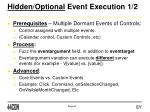hidden optional event execution 1 2