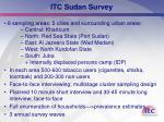 itc sudan survey