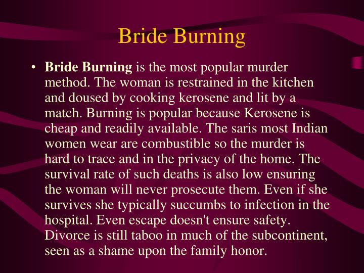 Bride Burning