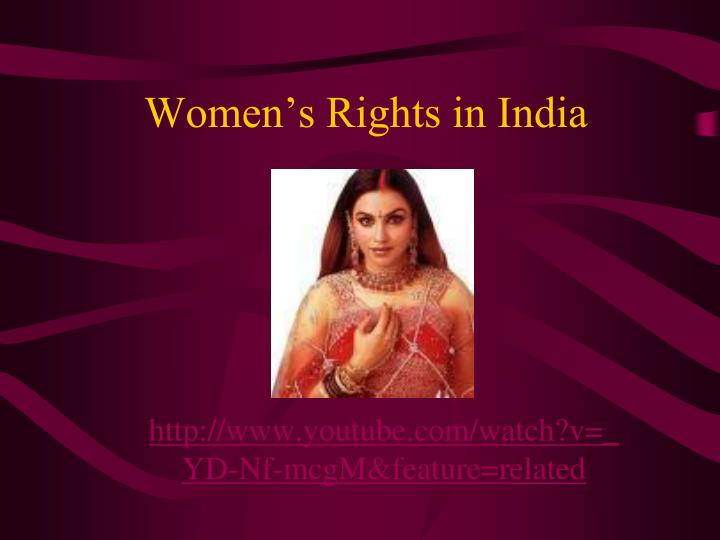 Women s rights in india