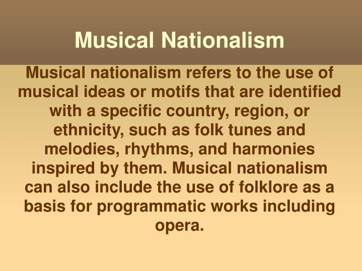 Musical Nationalism
