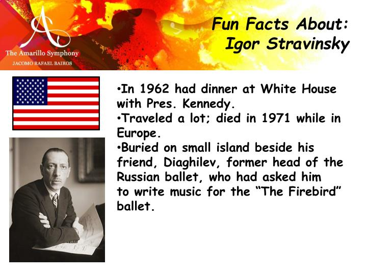 Fun Facts About: