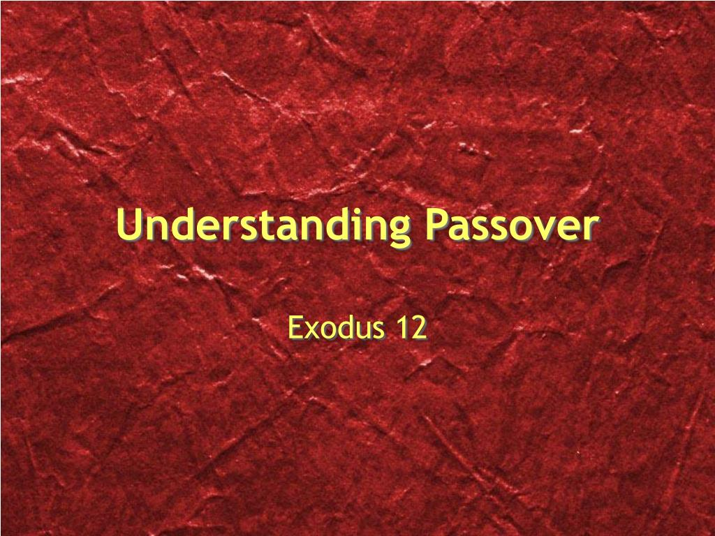 PPT - The Exodus PowerPoint Presentation - ID:3568578