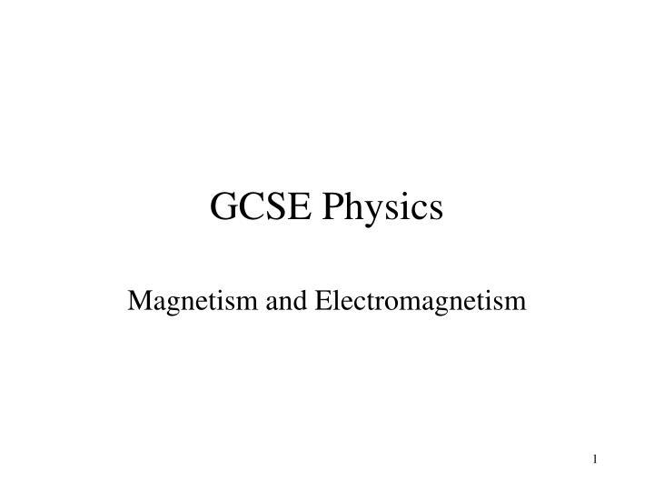 gcse physics n.