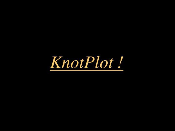 KnotPlot !