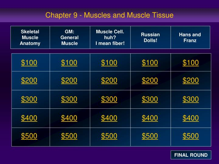 chapter 9 muscles and muscle tissue n.