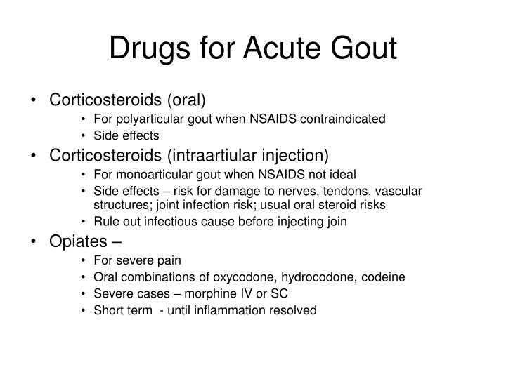 Ppt In The Clinic Gout Powerpoint Presentation Id