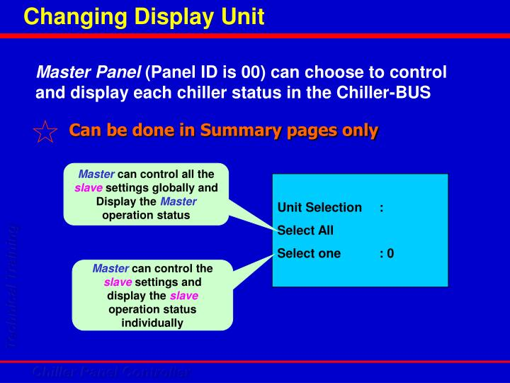 Can be done in Summary pages only