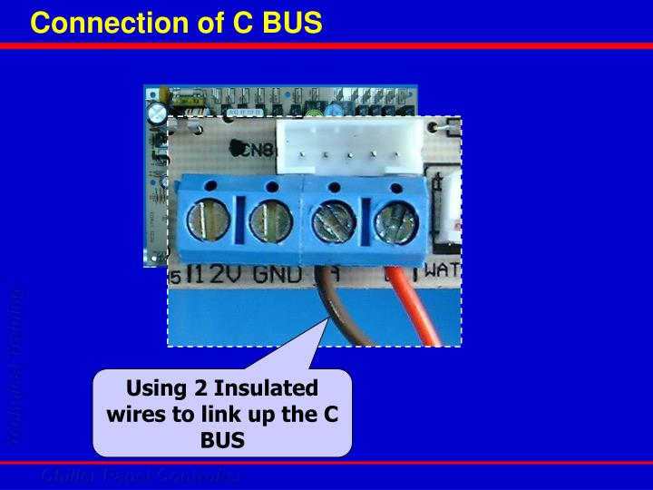 Connection of C BUS