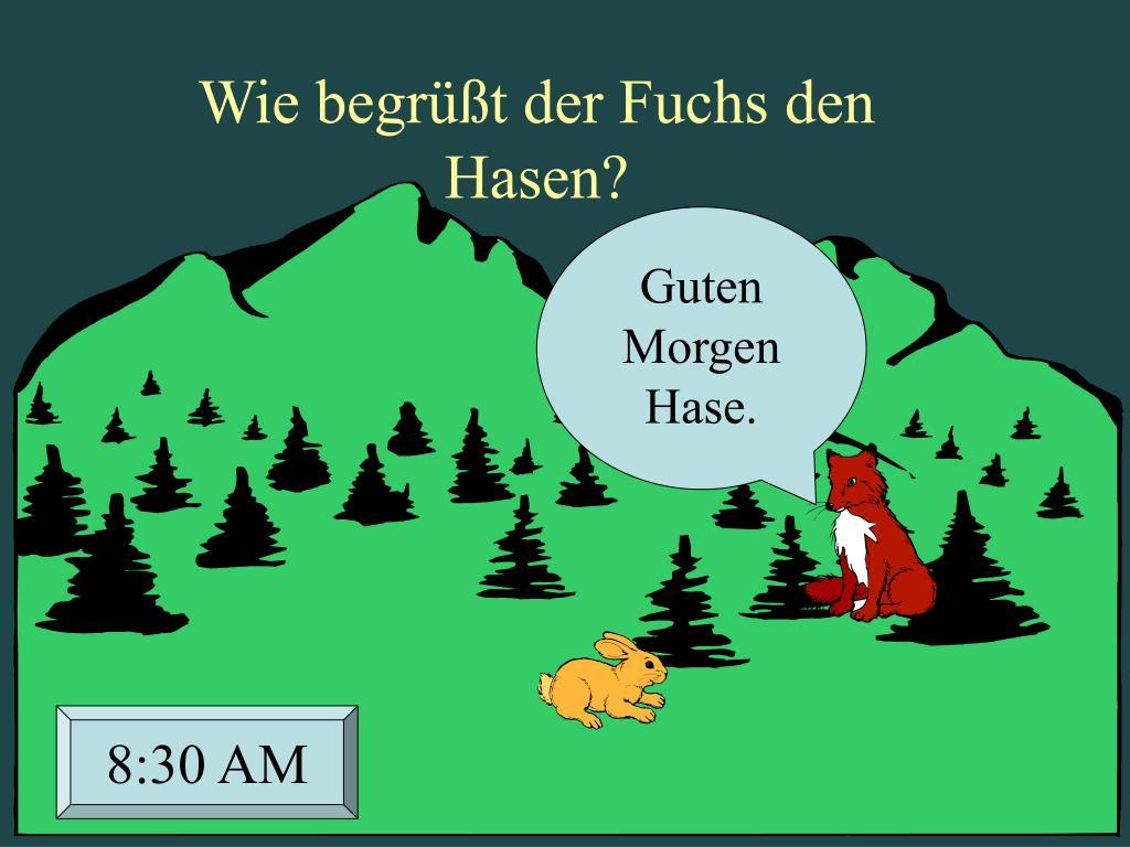 Ppt Hase Und Fuchs Powerpoint Presentation Free Download
