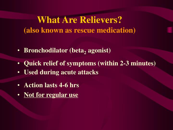 What Are Relievers?