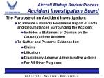 aircraft mishap review process accident investigation board1