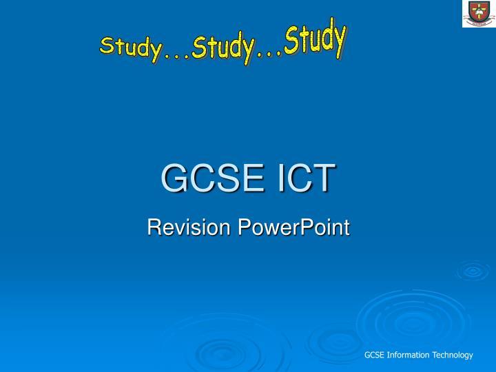 Gcse ict