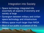 integration into society