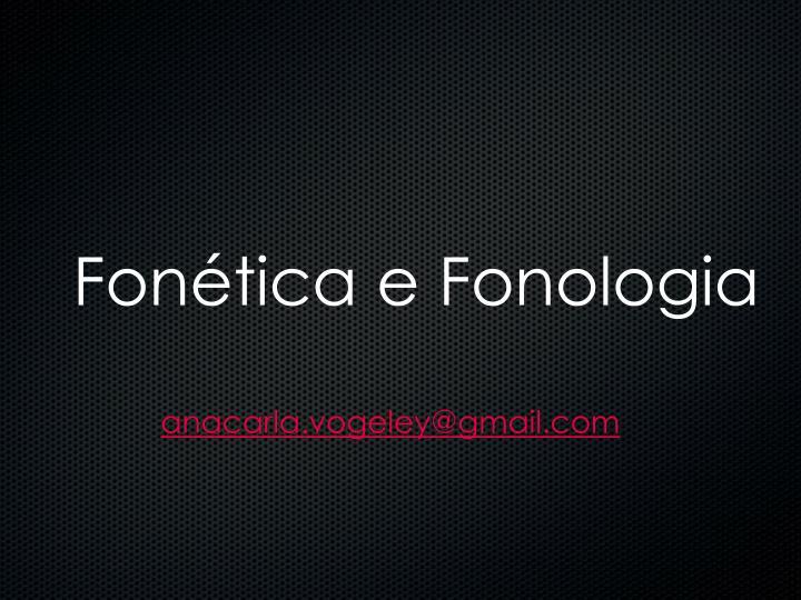 fon tica e fonologia n.