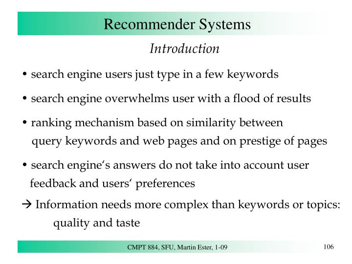 Recommender systems1