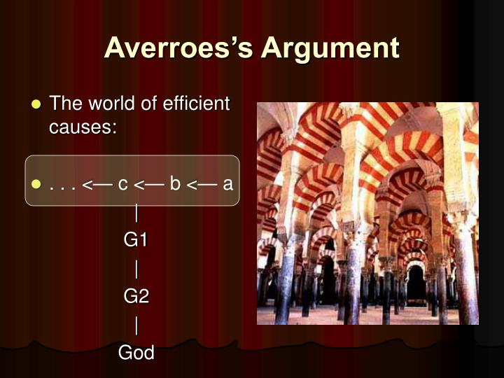 Averroes's Argument