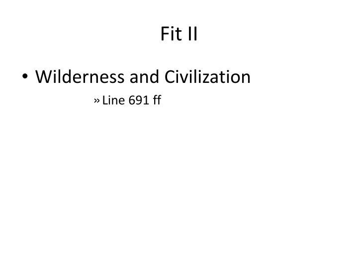 Fit II