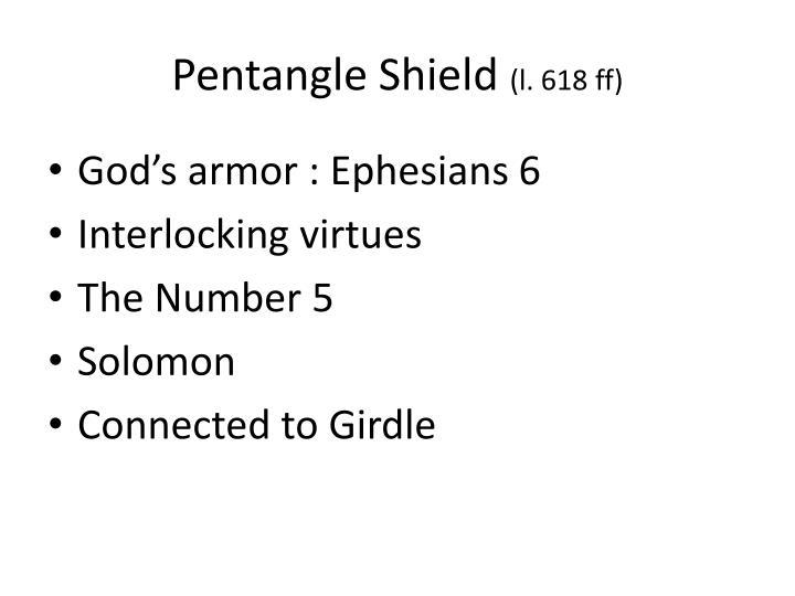 Pentangle Shield