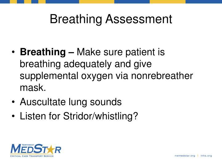 Breathing Assessment