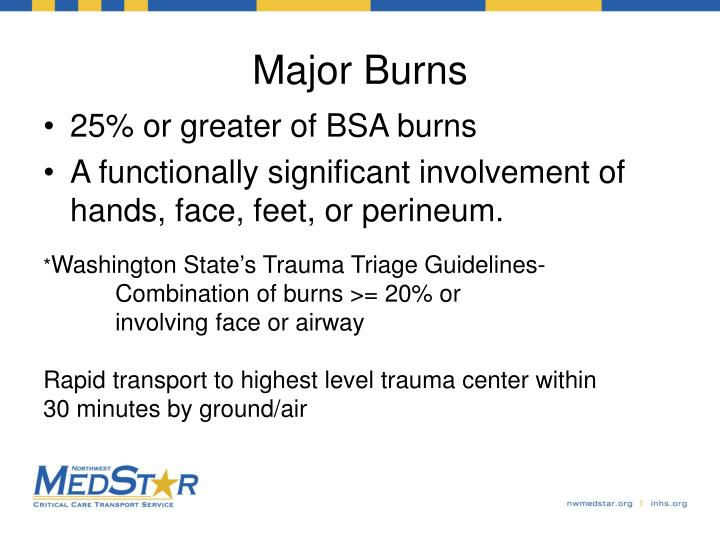 Major Burns