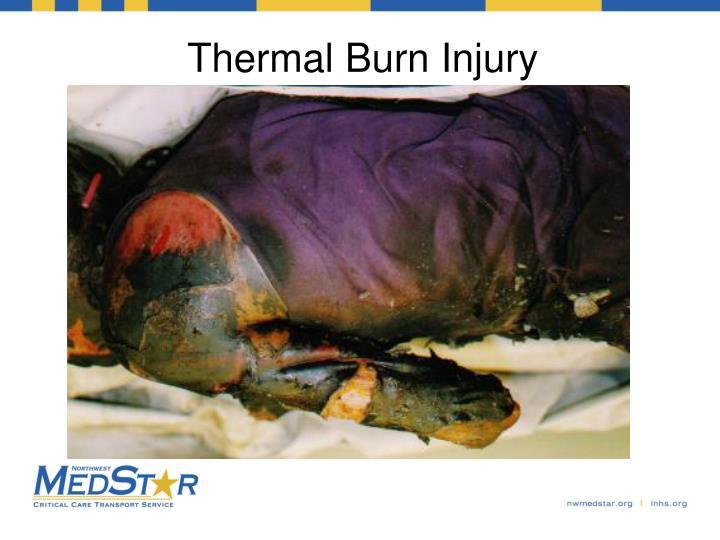 Thermal Burn Injury