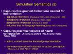 simulation semantics 2