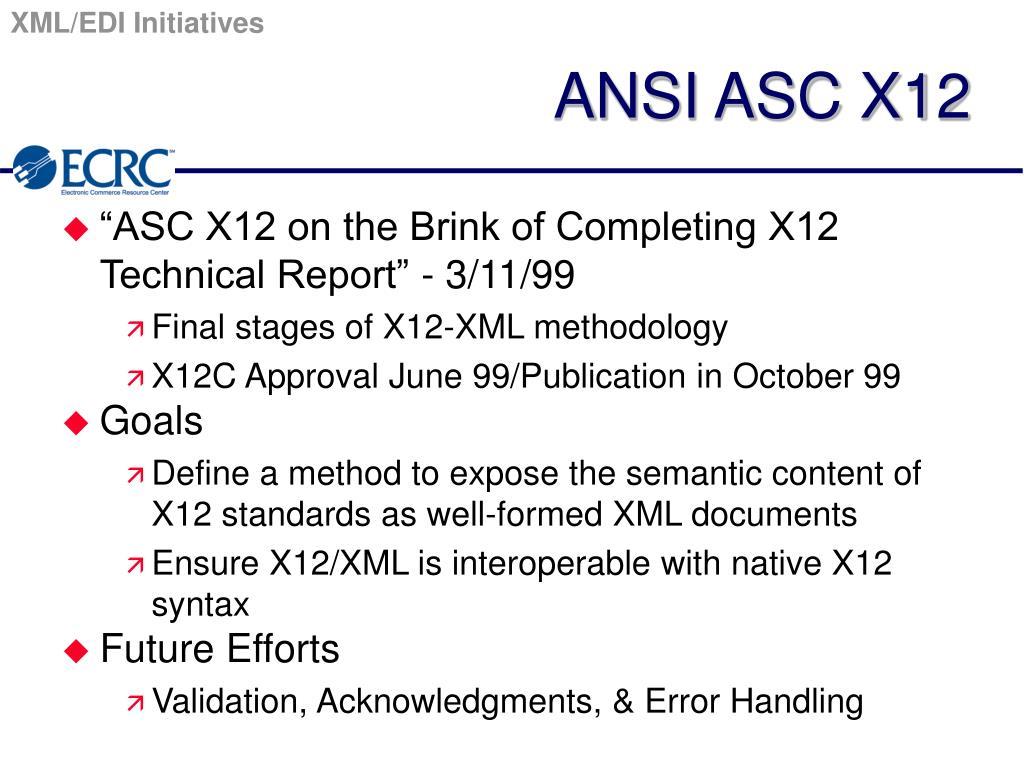 PPT - XML/EDI Overview PowerPoint Presentation - ID:3570104