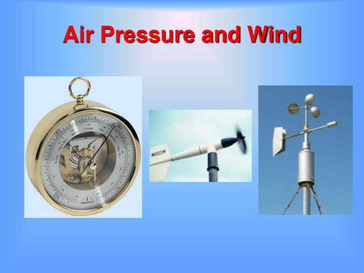 air pressure and wind n.