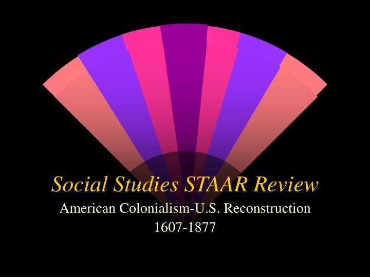 social studies staar review n.