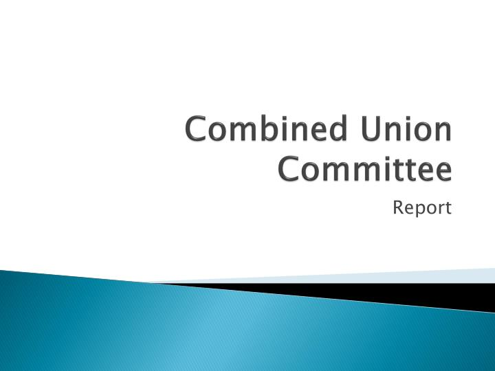 combined union committee n.