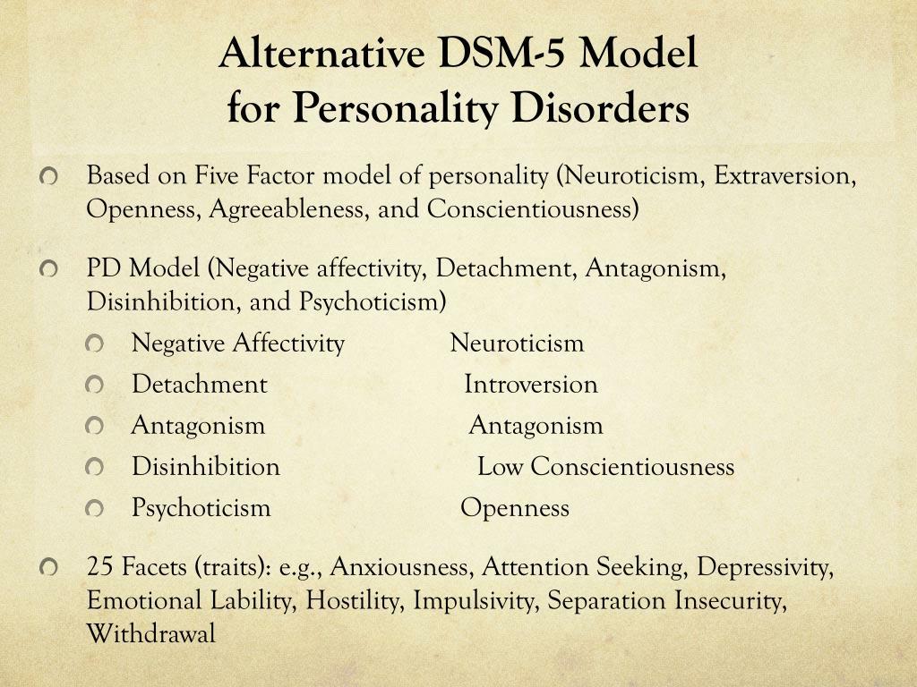 PPT - DSM – 5: A Brief Overview PowerPoint Presentation - ID