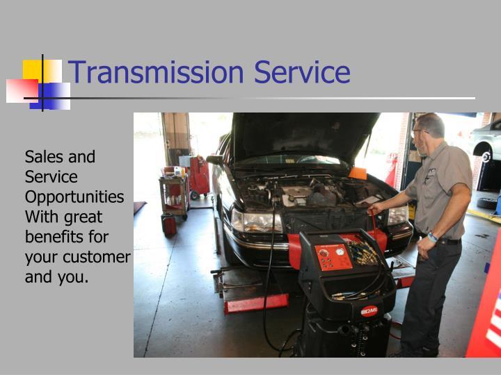 transmission service n.