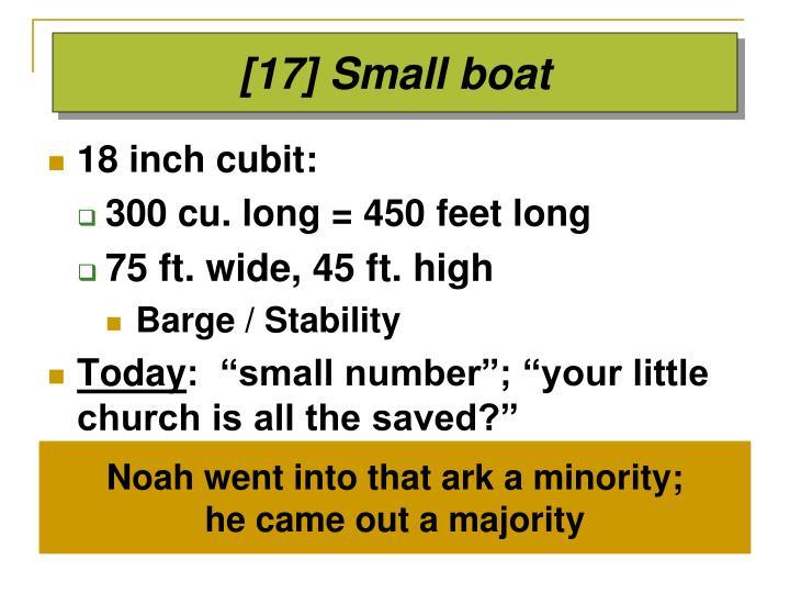 [17] Small boat