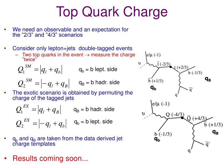 Top Quark Charge