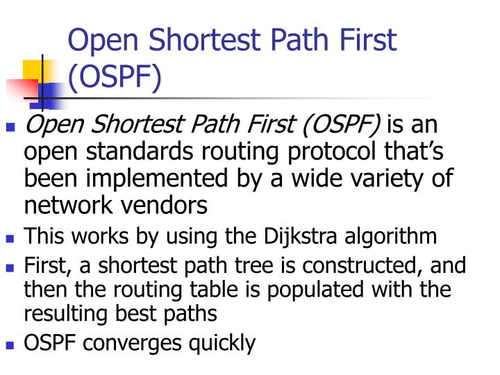 PPT - Open Shortest Path First (OSPF) PowerPoint