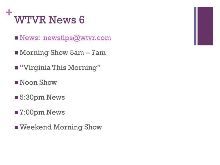 WTVR News 6
