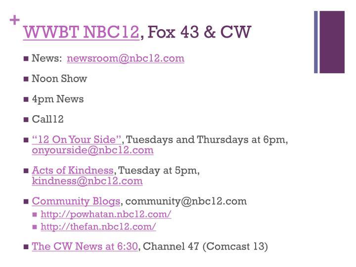 WWBT NBC12