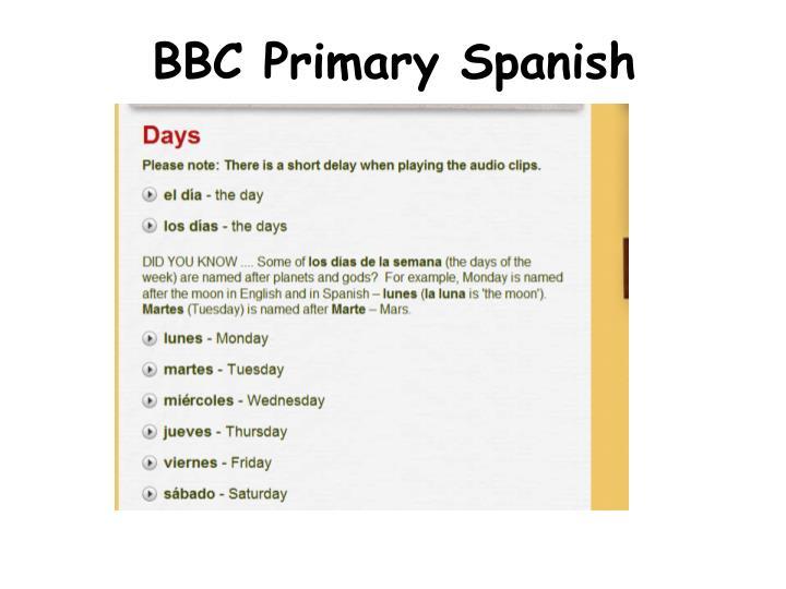BBC Primary Spanish