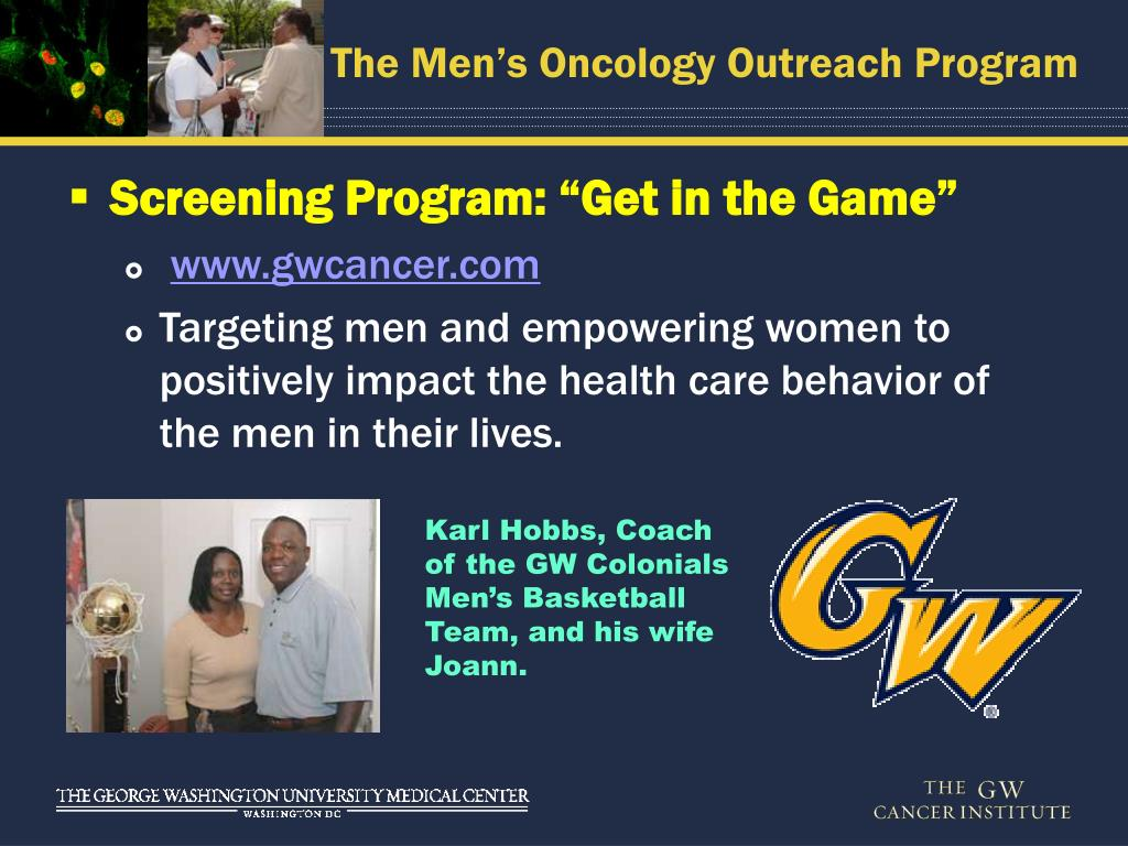 PPT - Commitment  Compassion  Community Men's Oncology