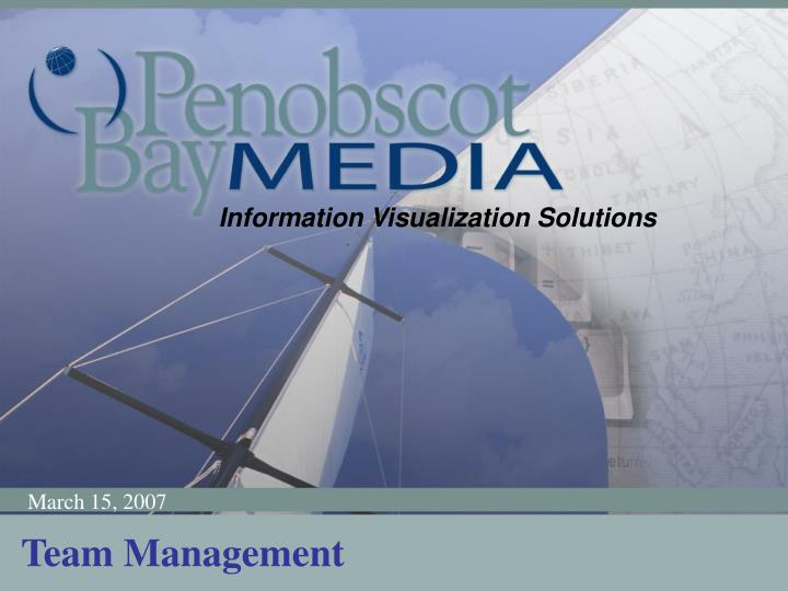 Information Visualization Solutions