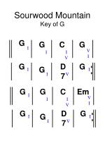 sourwood mountain key of g