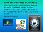 principais novidades do windows 710
